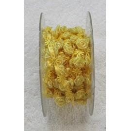 Braid h 1 cm, yellow