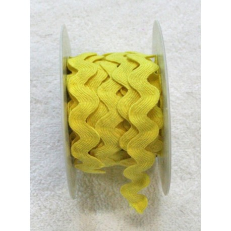 Braid h 1 cm, yellow