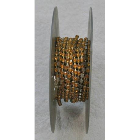 Passamaneria h 0.40 cm, arancio