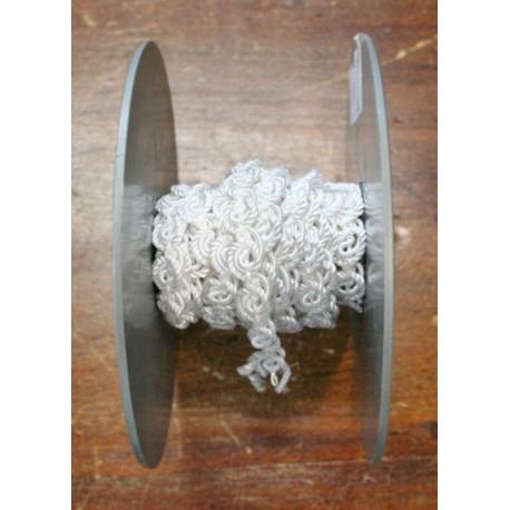 Passamaneria h 0.90 cm, bianco