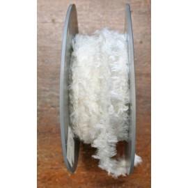 Braid h 1 cm, white