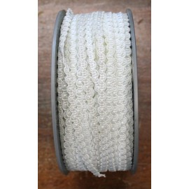 Passamaneria h 0.60 cm, bianco