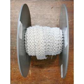 Trimmings h 1.30 cm, white