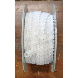 Passamaneria h 1.20 cm, bianco