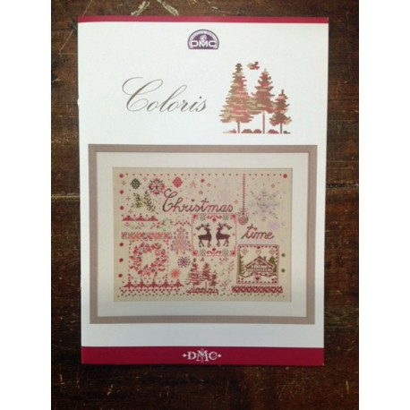 Libro punto croce DMC - Coloris Christmas