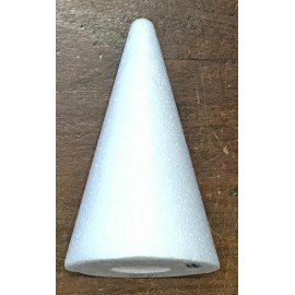 Cone of polystyrene - 20 cm