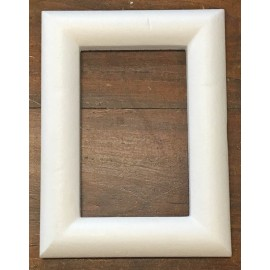 The rectangular frame of polystyrene - 24x32 cm