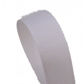Velcro sew-on white (20 mm) - male