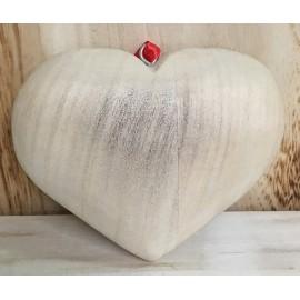 """Base in legno a forma di cuore """"pieno"""""""