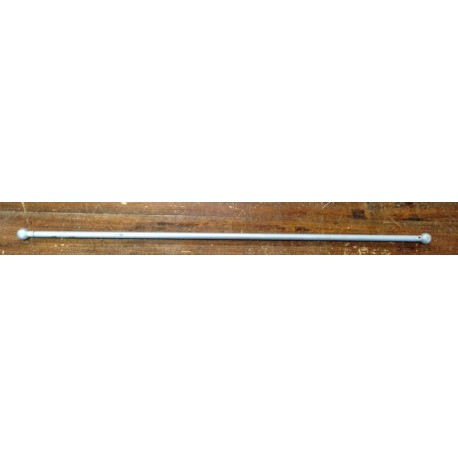 Rods for curtains with a knob, 60cm