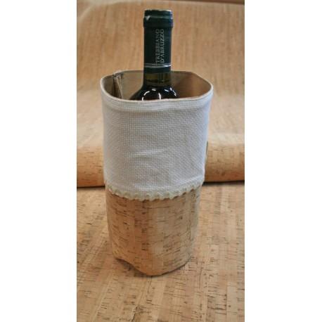 Porta bottiglia in sughero