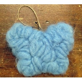 Butterfly eco wool blue