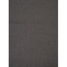 Fleece fabric solid - gray