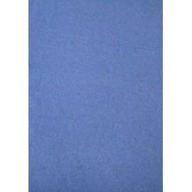 Tessuto di Pile a tinta unita - bluette