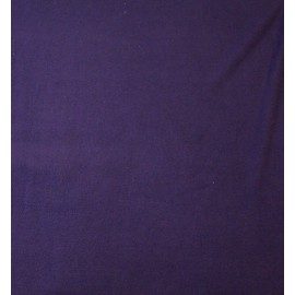 Fleece fabric solid colour - blue