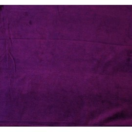 Fleece fabric solid - col. Purple