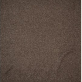 Fleece fabric solid - col. Brown