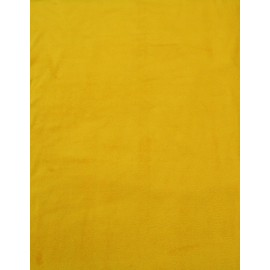Fleece fabric solid - col. Mustard