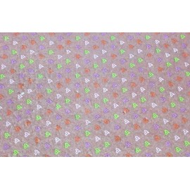 Cloth Lenci Asti 0.45 h - patterned colored hearts