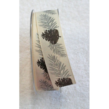 "Tape with print of pine cones 2 - ""The Tapes Mirta"""