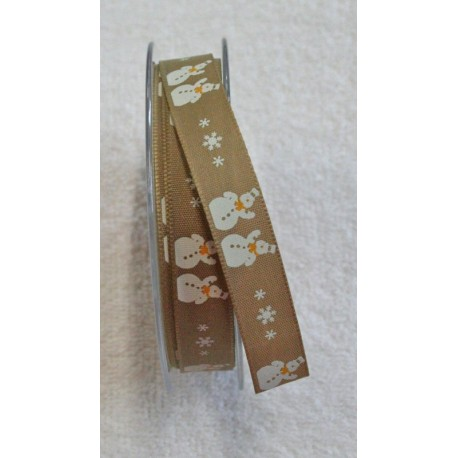 """Tape with print snowmen 2 - """"The Tapes Mirta"""""""