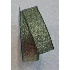 "Ribbon with. Dark green gold - ""The Tapes Mirta"""