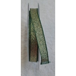 "Ribbon with. Dark green golden 2 - ""The Tapes Mirta"""