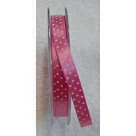"Ribbon with polka dot print pink - ""Tapes Mirta"""