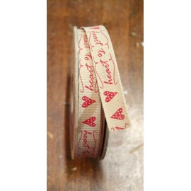 "Tape with printed ""Heart to Heart"" - ""The Tapes Mirta"""
