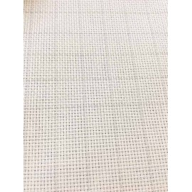 Canvas aida Zweigart easy count 55 holes - col. Ecru