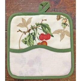 Presina quadrata - serie economica - col. Verde oliva