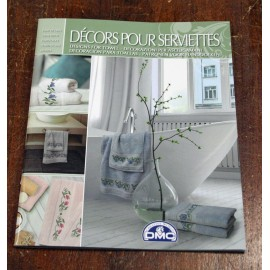 The book cross-stitch DMC - Decors pour serviettes
