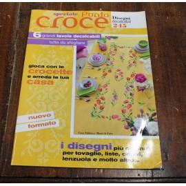 Libro Decalcabili 245 - punto croce