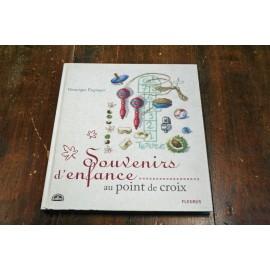 Libro punto croce DMC - Souvenirs d'infanzia