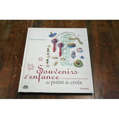 Libro punto croce DMC - Souvenires d'enfance