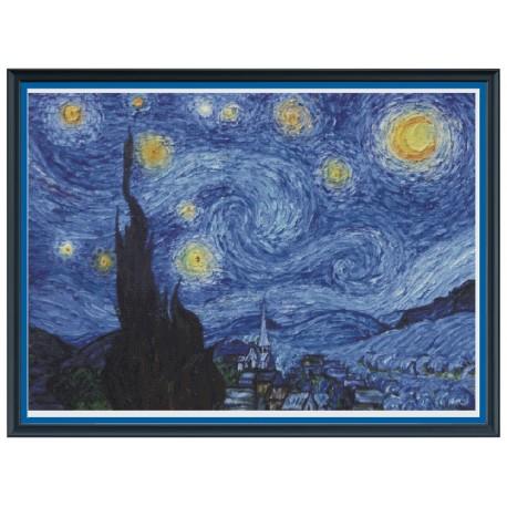 """Schema """"La notte stellata di Van Gogh"""""""