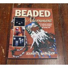 Book Beaded Ornament