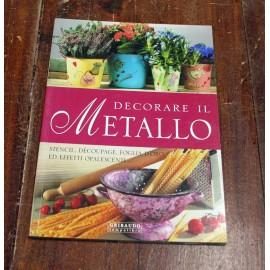 Libro Decoupage su metallo