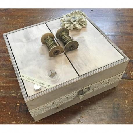 Kit tutorial - Box work wood