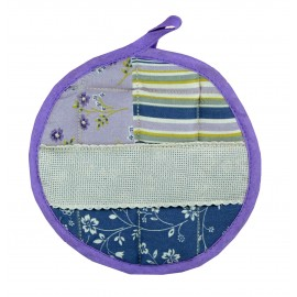 Pot holder round Romantic Rose