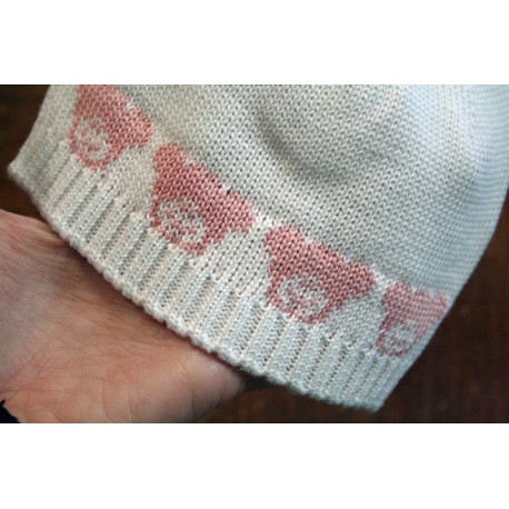 Cap in cotton mis. 3mesi