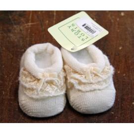 Scarpine in lana mis. 3 mesi