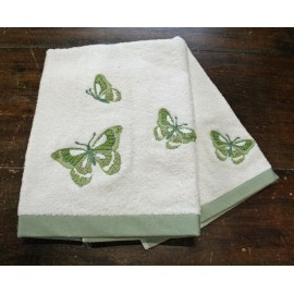 Couple bathroom towels ladybug