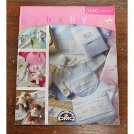 Libro punto croce DMC - Baby