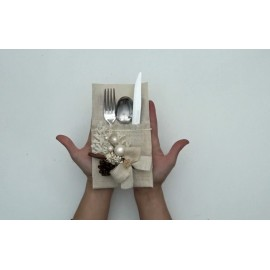 Kit tutorial - Port cutlery made of jute