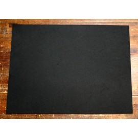 Sheet moosgummi with. Black