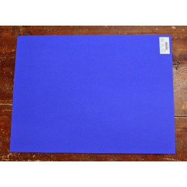 Sheet moosgummi with. Blue