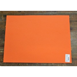 Sheet moosgummi with. Orange