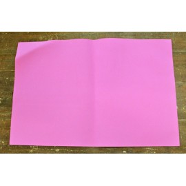 Sheet moosgummi with. Fuchsia