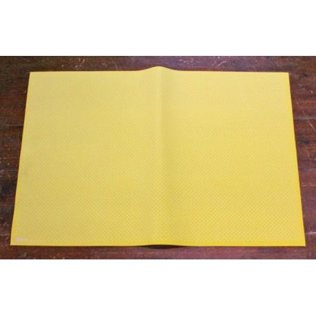 Sheet moosgummi with. Yellow polka dot